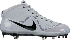 ec8a25e3a31 Nike Men s Force Zoom Trout 4 Mid Metal Baseball Cleats