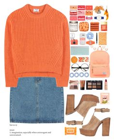 orange you glad I'm here by experimental-m on Polyvore featuring polyvore fashion style Acne Studios Rebecca Minkoff Herschel Supply Co. Rafe Casio Poppy Finch Casetify ZeroUV NARS Cosmetics Bobbi Brown Cosmetics Charlotte Tilbury Michael Kors Ole Henriksen nuLOOM Ethan Allen Fountain clothing