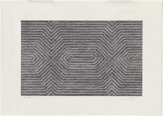 Frank Stella Study for Gavotte [recto] line drawing for Gavotte [verso] 1967 crayon and pencil image 25.6 h x 40.6 w cm