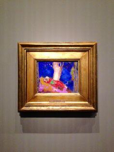 Odilon Redon, Femme étendue sous un arbre (1900-1901) Exposition Chtchoukine, Paris 2017