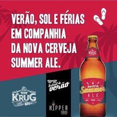 Cerveja Áustria Summer Ale, estilo Specialty Beer, produzida por Krug Bier, Brasil. 5.1% ABV de álcool.