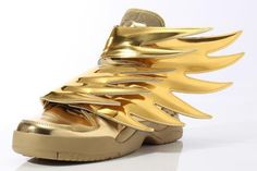 ADIDAS ORIGINALS BY JEREMY SCOTT JS WINGS 3.0 GOLD