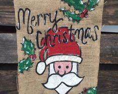 Adorable Snowman Garden Flag or Door Hanger.Perfect this holiday season. Christmas Garden Flag, Burlap Garden Flags, Door Hangers, Applique, Merry, Reusable Tote Bags, Monogram, Bows, Unique Jewelry