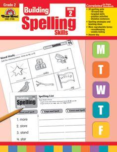 Evan-Moor Building Spelling Skills Review