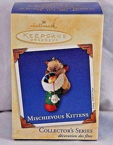 Hallmark Keepsake Ornament Mischievous Kittens 2003 # 5 | Collectibles, Decorative Collectibles, Decorative Collectible Brands | eBay!