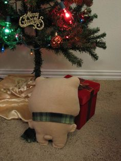 Bear stuffed plush bear stuffed softie by StylinStitchesShop
