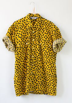this is a vintage men's shirt, but I would buy a smaller size and wear it myself.