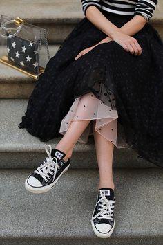 Black Tulle Skirt Outfit, Black Pleated Skirt, Tulle Dress, Dress Skirt, Tulle Skirt Outfits, Pleated Skirts, Black Tulle Skirts, Tulle Tutu, White Tulle
