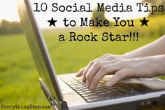 10 Social Media Tips to Make You a Rock Star on EverythingEtsy
