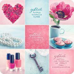 Kortti,  Ystäväkollaasi Valentines Day, Friendship, Anna, Thoughts, Words, Photography, Inspiration, Mental Health, Happiness