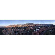 Así apunta el poniente esta tarde en Medellín. by orios8