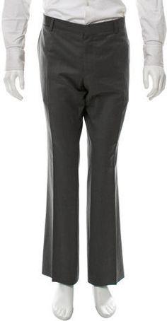 Burberry London Wool Flat Front Pants Mens Dress Pants, Wool Pants, Burberry, Sweatpants, Flats, London, Stylish, Tops, Fashion