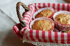 Orange and Ginger Muffins. Whole wheat orange and ginger muffins made with agave nectar - a sweet and spicy healthy breakfast treat. Little Ruby, Little Red Hen, Farm Cottage, White Cottage, Cottage Style, Apple Farm, Apple Orchard, Red Farmhouse, Beautiful Home Gardens
