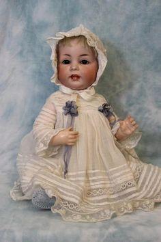 15.5 inch Antique German Bisque K*R Kammer & Reinhardt 116A Character Baby Doll 1909