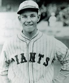 Mel Ott - He played his entire career for the New York Giants (1926–1947). The first NL player to surpass 500 home runs.  In his 22-season career, Ott batted .304 with 511 home runs, 1,860 RBIs, 1,859 runs, 2,876 hits, 488 doubles, 72 triples, 89 stolen bases, a .414 on base percentage and a .533 slugging average.  From 1928-1945, he led the New York Giants in home runs. This 18-season consecutive dominance is a record.