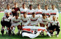 Mundial InterClubes 1992 SPFC 2 X 1  Barcelona    SPFC: Zetti; Vítor, Adílson, Ronaldão e Ronaldo Luís; Pintado, Toninho Cerezo (Dinho, 38'/2), Raí (capitão) e Cafu; Palhinha e Müller. Técnico: Telê Santana.