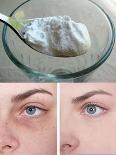 10 Useful Body Care Tips and Tricks You Probably Didn't Know About Add a teaspoon of baking soda to a glass of hot water or tea, and stir well. Soak a cotton pad in this mixture, and then apply it to the area under your eyes. Wait for about 10-15 minutes, then wash any residue off and use a moisturizing cream. Repeat this procedure every day, and you'll soon notice results!