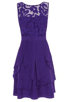Coast London Daymee purple dress