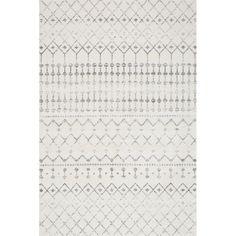 nuLOOM Blythe Modern Moroccan Trellis Gray 2 feet x 3 feet - The Home Depot Nuloom Blythe Gray 2 ft. X 3 ft. Moroccan Area Rug, Modern Moroccan, Moroccan Print, Moroccan Style, Grey Rugs, Beige Area Rugs, Wool Area Rugs, Dark Grey Couches, Santa Cruz