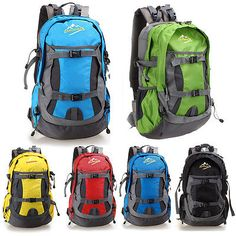 bab4e18862f09 New Waterproof Outdoor Sports Hiking Camping Backpack Daypack Large  Shoulder Bag  unbranded Camping Items