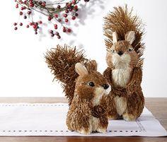 Herzallerliebst: Zwei #Deko-Eichhörnchen für €6,95 bei #Tchibo