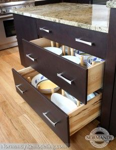 Kitchen Island Storage Can Be Tricky To Blend In With The Rest Of Style Dish Drawerscabinet