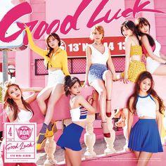 #AOA 4th Mini Album [#GoodLuck] WEEKEND VER. COVER. 05.16 Release.