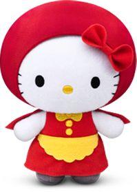 Hello Kitty Fairy Tales Plush Dolls Little Red Riding Hood 2012 by McDonalds | eBay