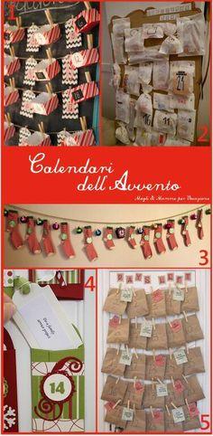 Calendario dell'Avvento: idee, foto ed esempi! - Mogli & Mamme per Vocazione