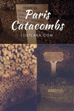 Paris catacombs dark tourism bones dead death