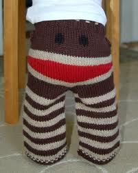 <3 sock monkeys and these baby pants are soooo cuuuute