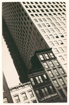 Walker Evans, Untitled (Buildings, New York), 1928-29