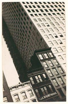 Buildings, New York 1928-29 Walker Evans