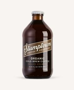 New Logo and Packaging for Stumptown Cold Brew by Column