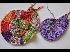 Stricken * 10 Stich Spirale neu * 10 Stitch Spiral Reloaded – Awesome Knitting Ideas and Newest Knitting Models Crochet Video, Crochet Amigurumi, Knit Or Crochet, Spiral Crochet, Yarn Projects, Knitting Projects, Crochet Projects, Loom Knitting, Knitting Stitches