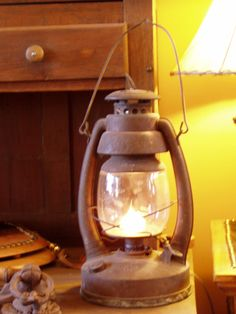 Antique Lantern Lamp, 719.657.3111, www.coloradocowgirls.net Lantern Lamp, Candle Lanterns, Candles, Antique Lanterns, Rustic Lamps, Mason Jar Lamp, Vaulting, Centerpieces, Table Lamp