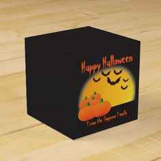 #Happy Halloween Favor Trick or Treat Boxes - #Halloween happy halloween #festival #party #holiday #kids #children