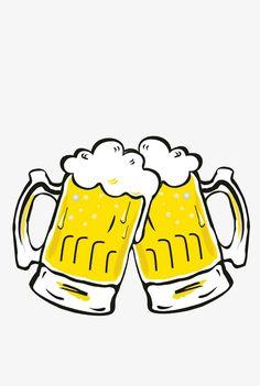 Beer Cartoon, Drawing Sketches, Drawings, Beer Humor, Borders And Frames, Beer Recipes, Homer Simpson, Best Beer, Cartoon Wallpaper