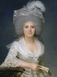 Portrait of Jeanne-Louise-Henriette Campan Joseph Boze (French, Pastel. Born Henriette Genet, Campan entered the service of Marie Antoinette, as first lady of the bed-chamber and retained. Saint Michael, Marie Antoinette, Trianon Versailles, French Royalty, Lady In Waiting, French History, 18th Century Fashion, French Revolution, Jeanne