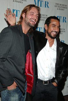 Josh Holloway and Naveen Andrews
