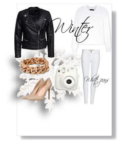 """""""white jeans outfit"""" by shirlygold on Polyvore featuring Burberry, 8, Calvin Klein Collection, STELLA McCARTNEY and Sisters Point"""