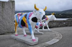 The world's largest public art exhibition of life-sized cows has been herded into Northern Ireland and the Northern Ireland Tourist Board (NITB) has moooved in on the act with its very own ni2012 cows. The ni2012 cows are visiting towns and cities around Northern Ireland during the summer for one week at a time and are currently grazing at the Victorian Baths in Warrenpoint.
