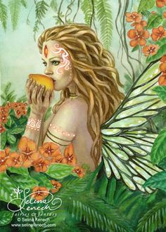 Tribal Rainforest Fairy