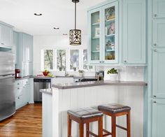 Tips for giving your outdated kitchen the Cinderella treatment on a budget. | Photo: Casey Dunn | thisoldhouse.com
