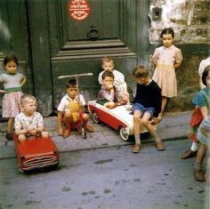 Paris dans les années 60.