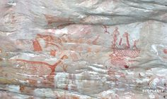 El arte rupestre más inaccesible del mundo - HISTORIA Y ARQUEOLOGIA Inaccessible only if you do not live there!