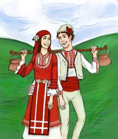 Baba Marta - Pizho & Penda Bulgarian Martenitsa
