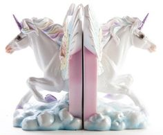 Homewares - Flying Unicorn Bookends - Buy Online Australia Beserk