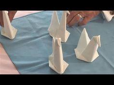 Formas de Doblar Servilletas de papel y de tela - Decorar Hogar