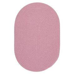 Rhody Rug Happy Braids Indoor/Outdoor Area Rug Pink - HB08R024X036